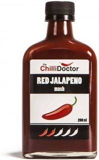 The ChilliDoctor Red Jalapeno Mash 200 ml