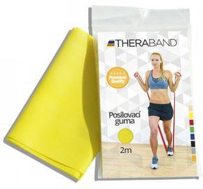Thera-Band Posilovací guma žlutá nízký odpor