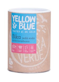 Yellow & Blue Bika jedlá soda