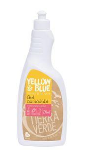 Yellow & Blue Gel na nádobí 750 ml citronová silice