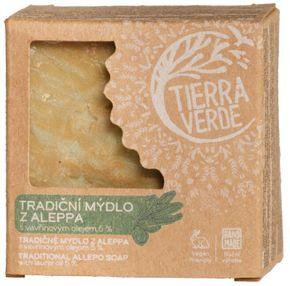 TIERRA VERDE Mýdlo Aleppo 5 % 200 g