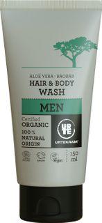 Urtekram Šampon na tělo a vlasy Men BIO