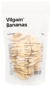 Vilgain Bananas Lyofilizované
