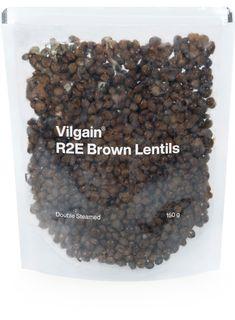 Vilgain R2E Brown Lentils BIO