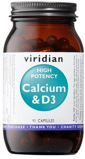 Viridian High Potency Calcium & D3
