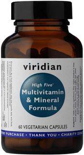 Viridian High Five Multivitamin & Mineral Formula