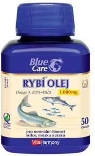 VitaHarmony Blue Care Rybí olej 1000 mg