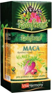 VitaHarmony Rainforest Maca 530 mg