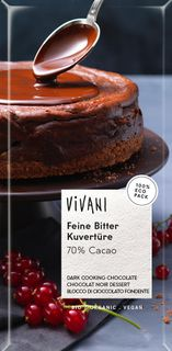 VIVANI Čokoláda na vaření 200 g