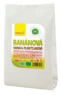 Wolfberry Banánová plantejnová mouka BIO 400 g