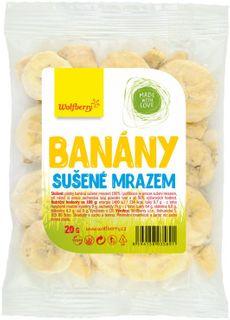 Wolfberry Banány sušené mrazem