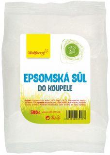Wolfberry Epsomská sůl do koupele