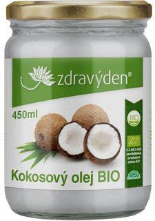 Zdravý den Kokosový olej BIO 450 ml