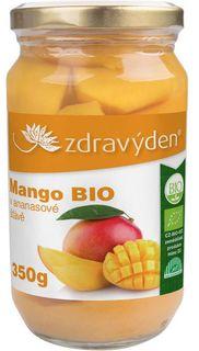 Zdravý den Mango v ananasové šťávě BIO 350 g