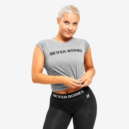 Better Bodies tričko Astroria Tee S šedá
