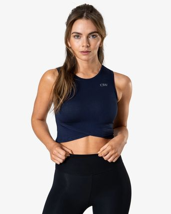 ICANIWILL tílko Nimble Cropped Tank Top