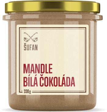 Šufan Mandlové máslo s bílou čokoládou