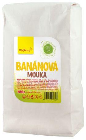Wolfberry Banánová mouka ze žlutých banánů