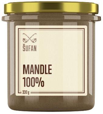 Šufan Mandlové máslo 100%