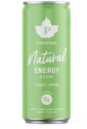 Puhdistamo Natural Energy Drink