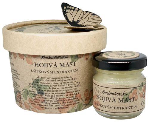 Krušnohorská lázeňská kosmetika Hojivá mast se šípkovým extraktem