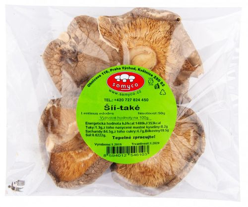 Samyco Houby sušené shiitake