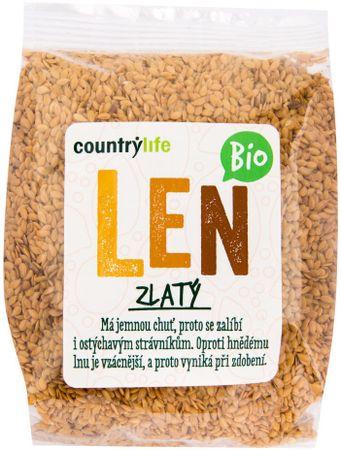 Country Life Len zlatý BIO