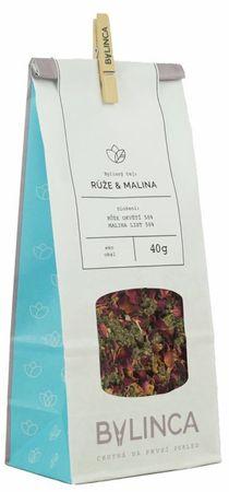 Bylinca Bylinný čaj Růže & Malina