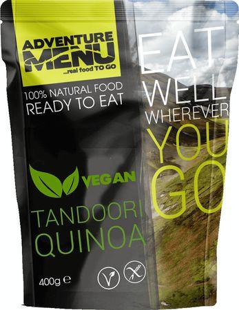 Adventure Menu Tandoori quinoa