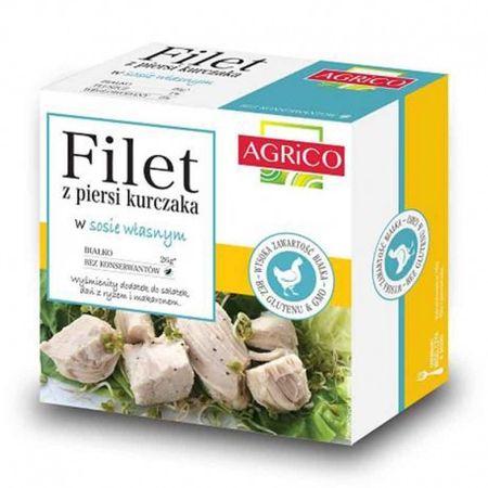 Agrico Kuřecí filety ve vlastní šťávě