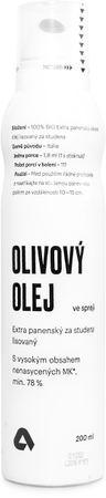 Aktin Extra panenský olivový olej ve spreji BIO