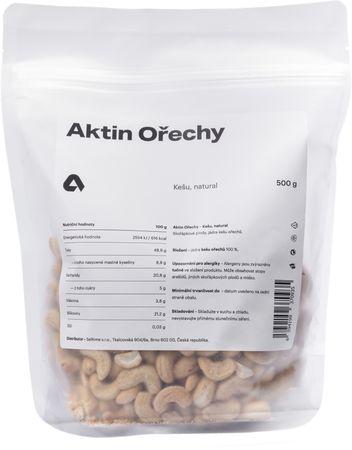 Aktin Kešu ořechy natural