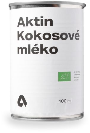 Aktin Kokosové mléko BIO 400 ml