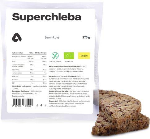 Aktin Superchleba BIO semínkový 275 g