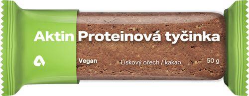 Aktin Vegan Protein Bar lískový ořech/kakao 50 g
