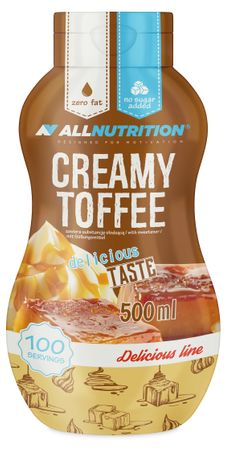 AllNutrition Sweet Sauce toffee 500 ml
