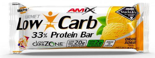 Amix Low-Carb 33% Protein Bar pomeranč 60 g