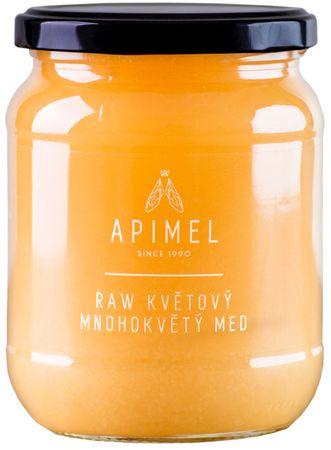 Apimel RAW Květový mnohokvětý med