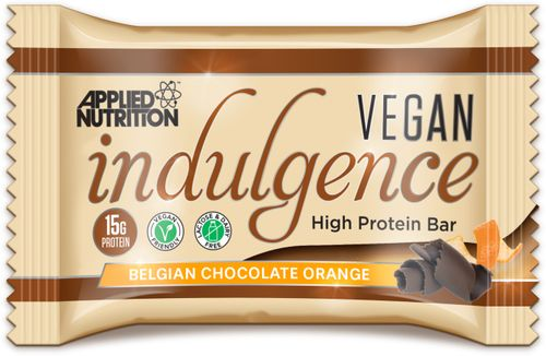 Applied Nutrition Vegan Indulgence Bar čokoláda/pomeranč 50 g
