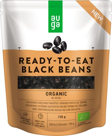 AUGA ORGANIC Černé fazole