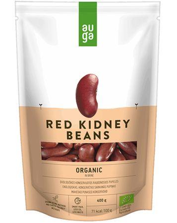 AUGA ORGANIC Červené fazole ve slaném nálevu