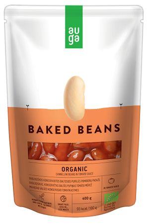 AUGA ORGANIC Pečené fazole v rajčatové omáčce