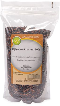 AWA Superfoods Černá rýže
