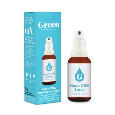 Green Pharmaceutics Nano CBG sprej