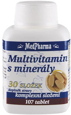 MedPharma Multivitamin s minerály 30 složek
