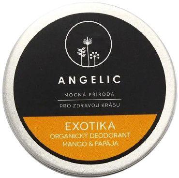 Angelic Exotika organický deodorant Mango & Papája