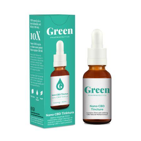 Green Pharmaceutics Nano CBD tinktura