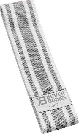 Better Bodies Odporová guma 33 cm bílá nízký odpor