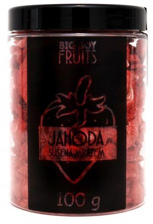 BIG BOY Jahody lyofilizované 100 g