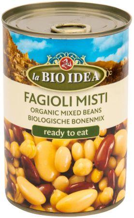 BIO IDEA Fazole mix sterilované BIO